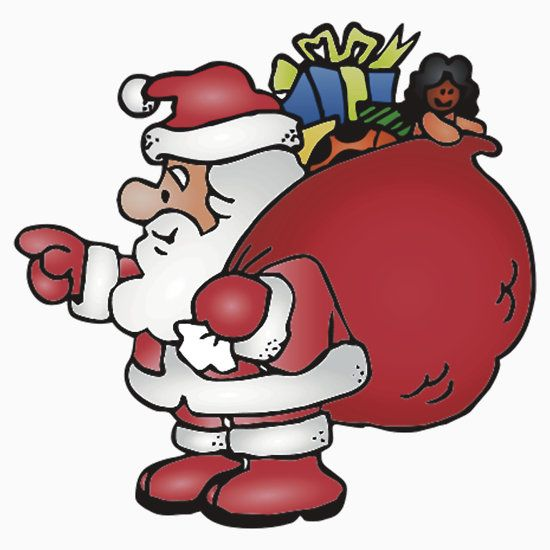 santa claus is coming to town clipart at getdrawings com free for rh getdrawings com clipart of santa claus black and white clipart santa claus is coming to town