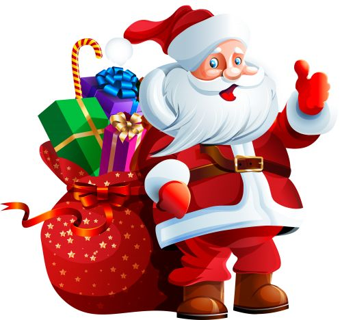 500x468 93 Best Santa Claus Images On Christmas Cards