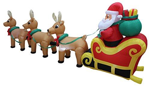 Santa Claus Sleigh Clipart
