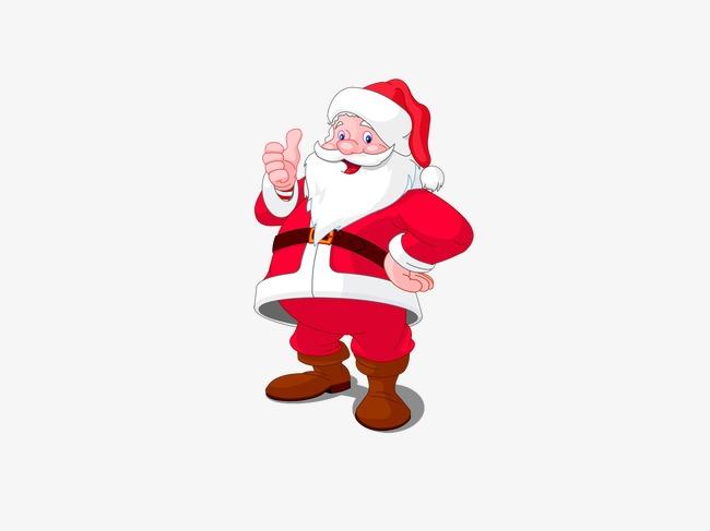 650x487 Santa Claus Vector, Old People, Santa Claus, Christmas Png Image