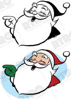 236x328 Santa Claus Flies Through The Sky With His Magic Sleigh