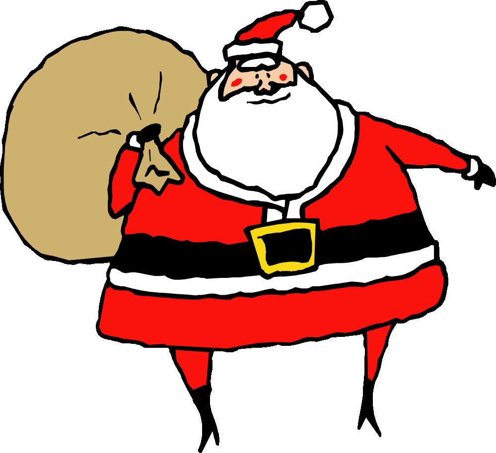 999x913 Santa S Sleigh Clip Art