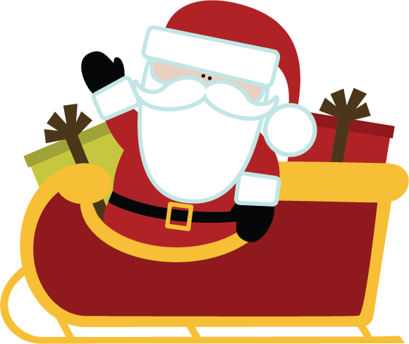 580x488 Santa Sleigh Png Images Free Download