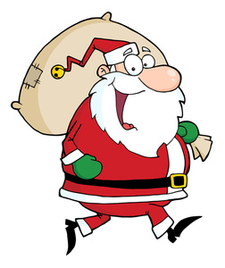 252x300 Clipart Cartoon Santa Claus Image Clip Art Illustration