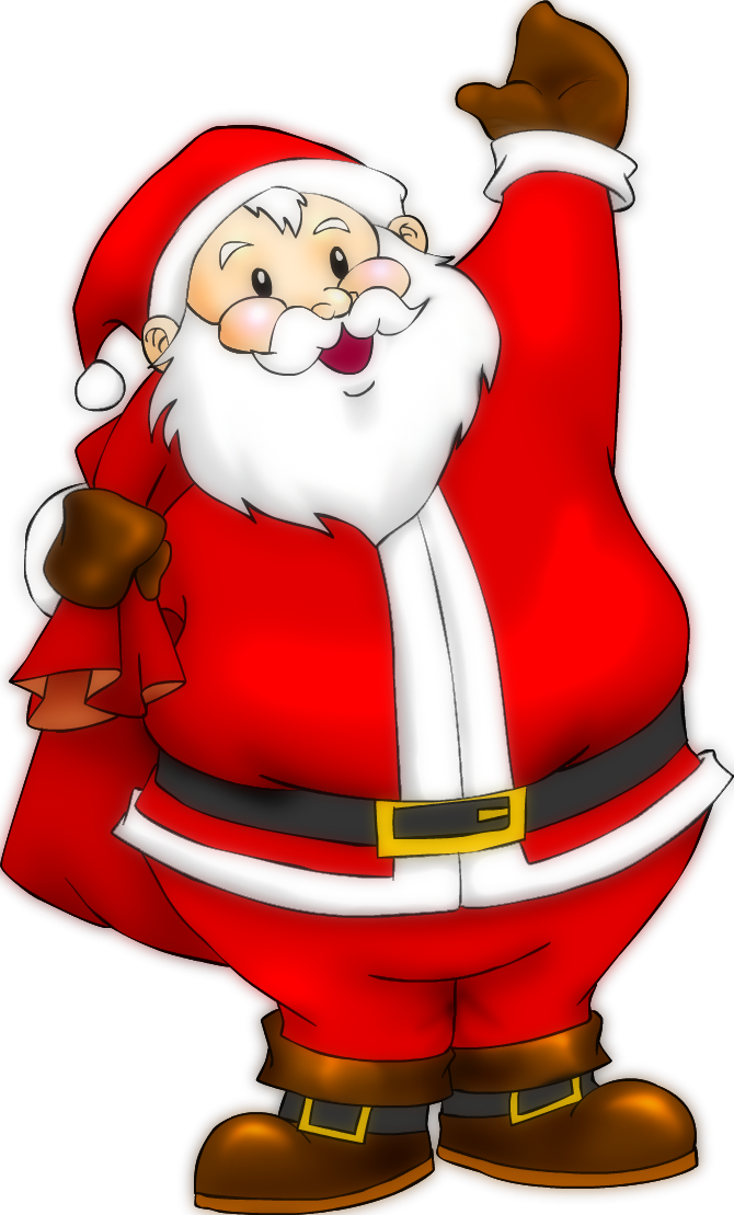 670x1109 Santa Claus By On @ Christmas