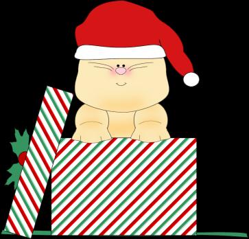 363x348 Santa Clipart Cat