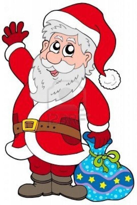 482x717 Animated Santa Claus Clipart