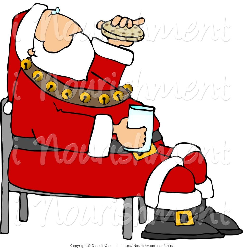 1024x1044 Chocolate Santa Claus Clipart