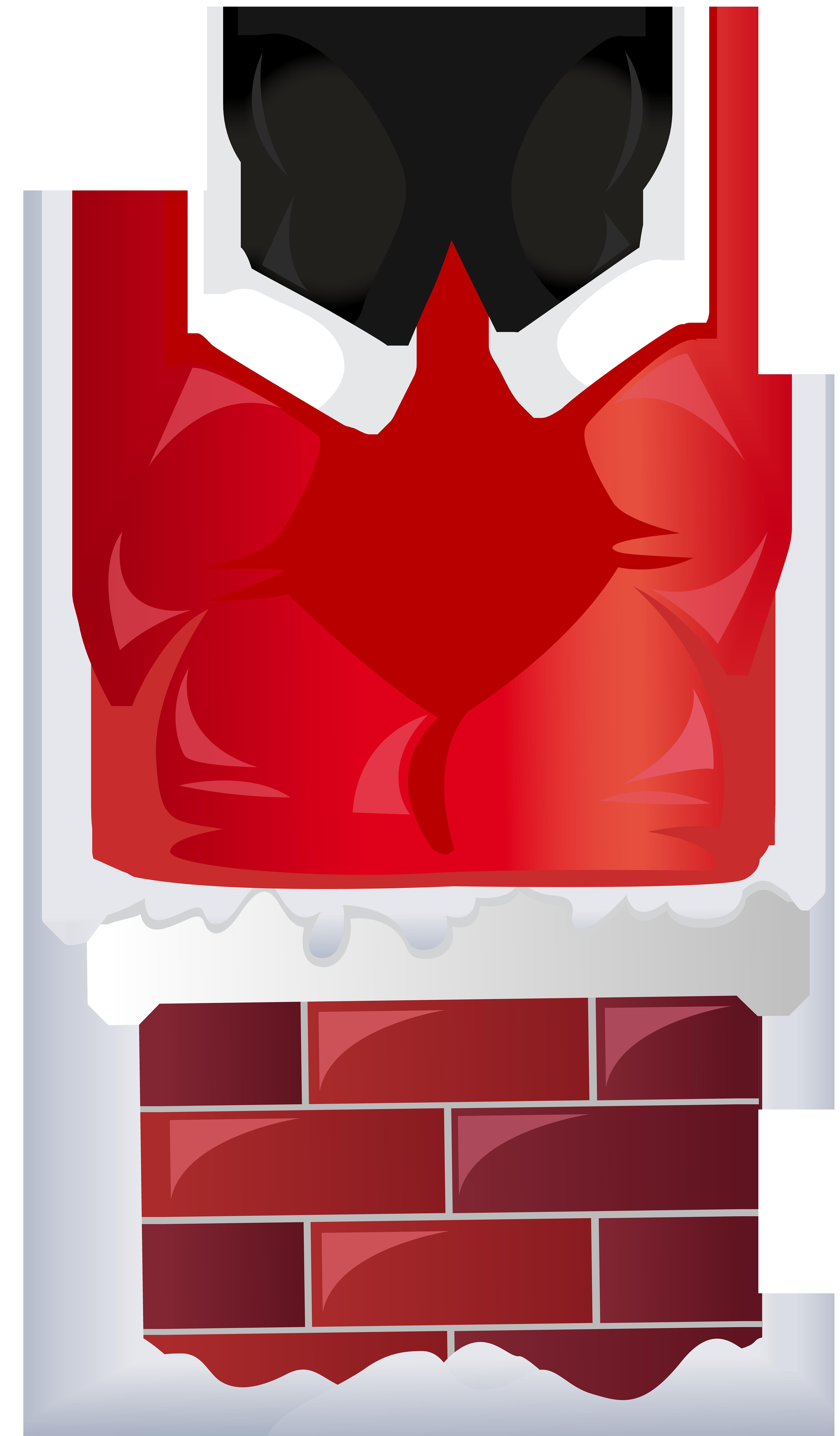 4681x8000 Funny Santa in Chimney Transparent PNG Clip Artu200b Gallery