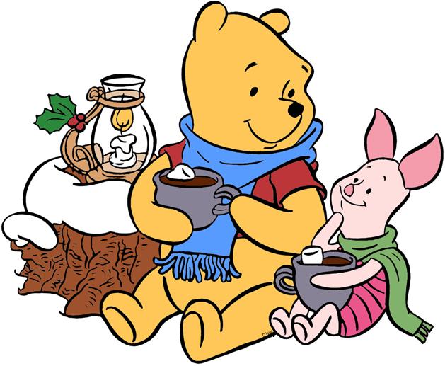 629x517 Winnie the Pooh Christmas Clip Art Disney Clip Art Galore