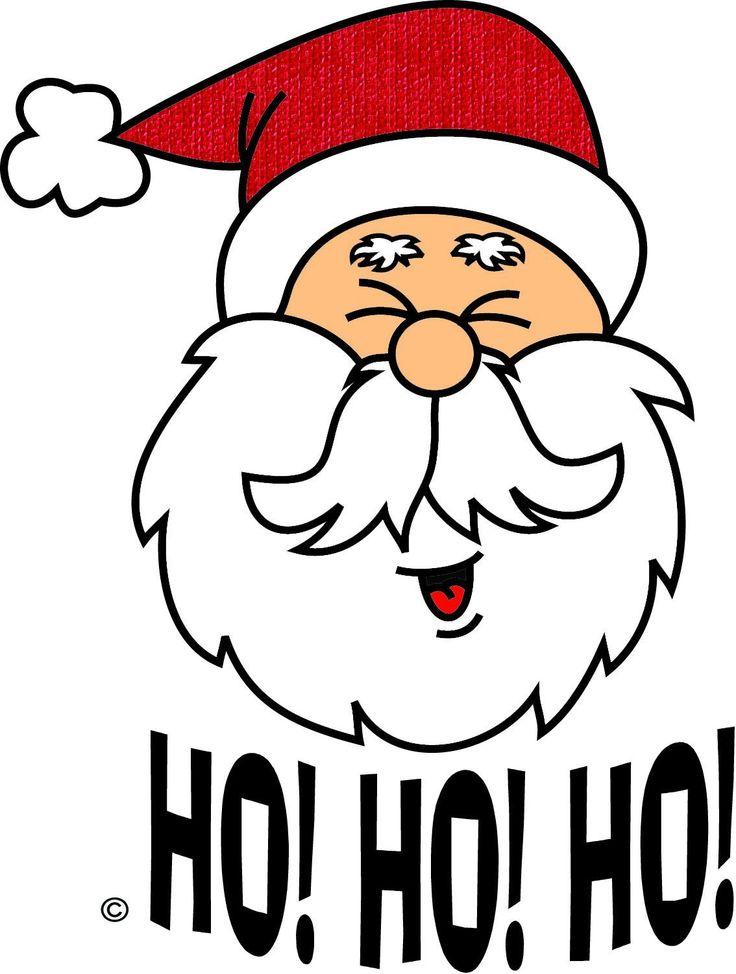 736x974 laughing santa clipart