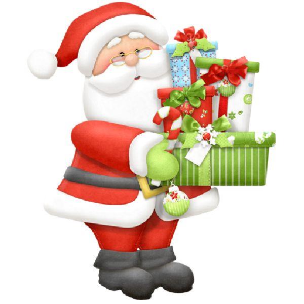 600x600 Christmas Santa Clipart – 101 Clip Art