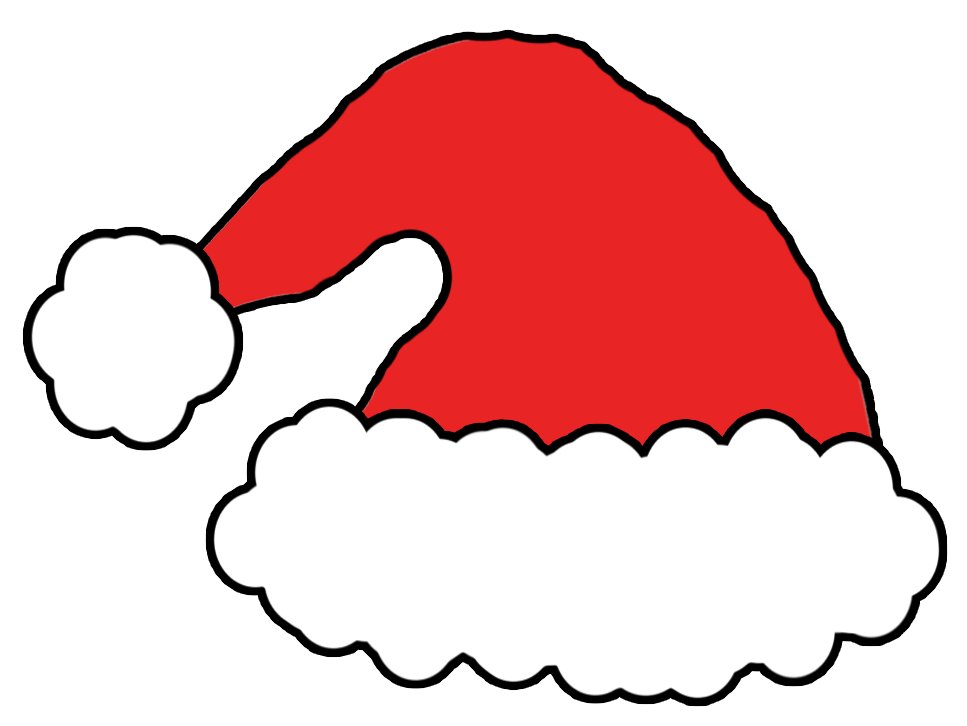 967x726 Christmas Hat Template Best Template Idea