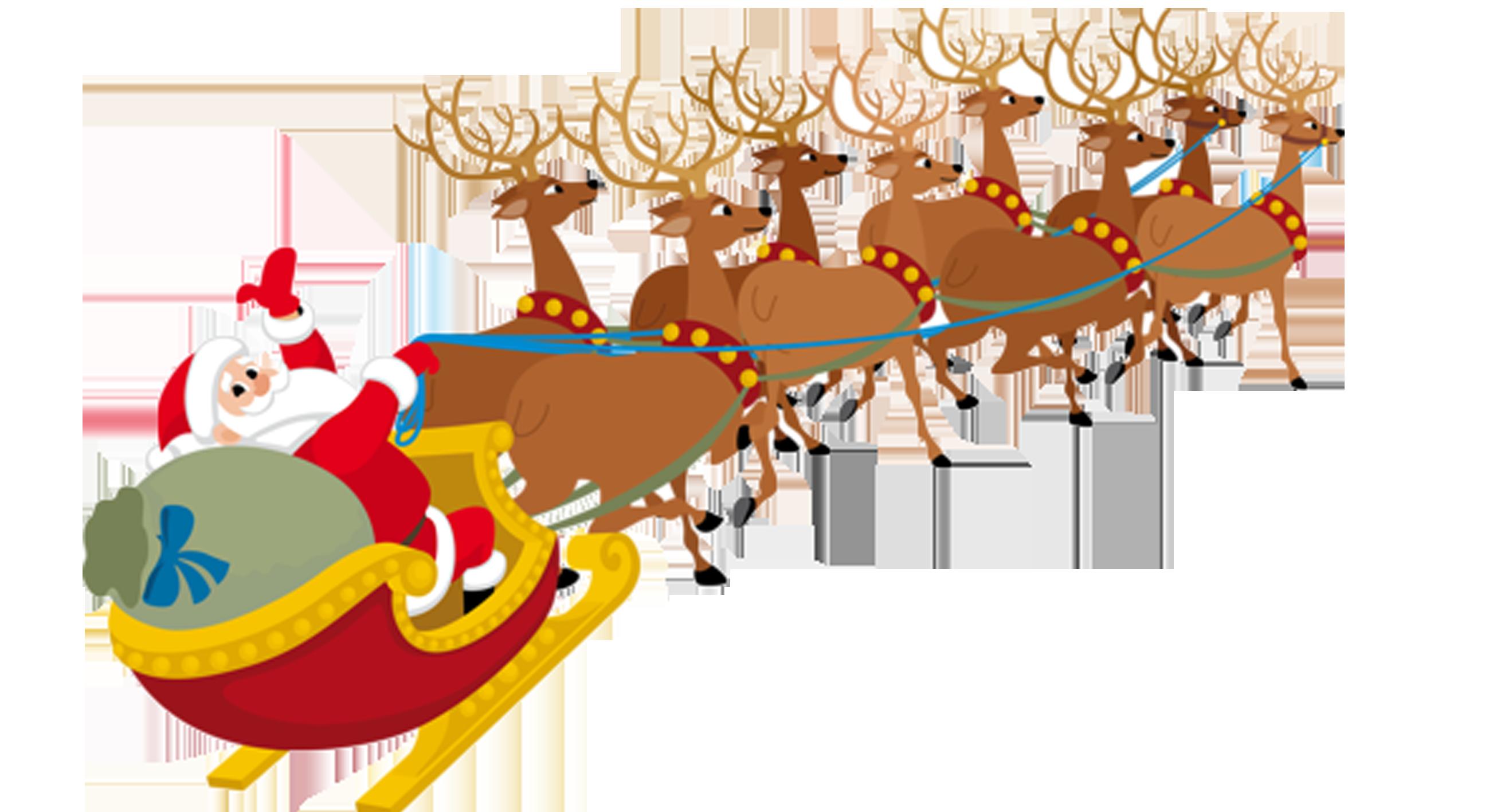 2598x1417 Santa Claus Village Santa Clauss Reindeer Clip Art
