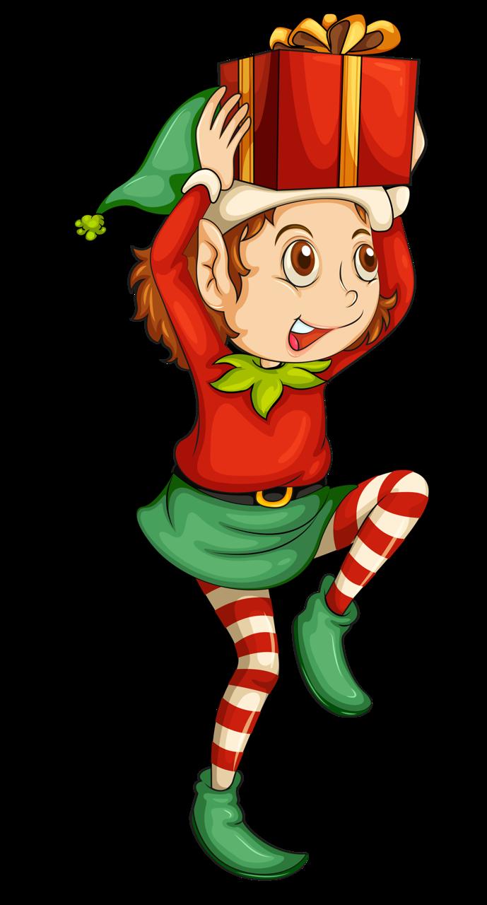 689x1280 16.png Elves, Clip Art And Santa