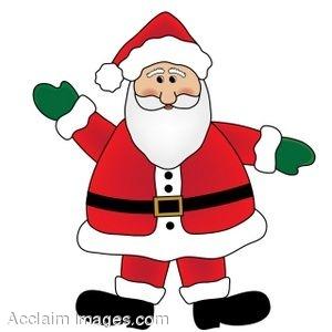 300x300 Santa Claus Clip Art