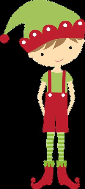 286x630 Christmas Boy Elf Clip Art Clip Art