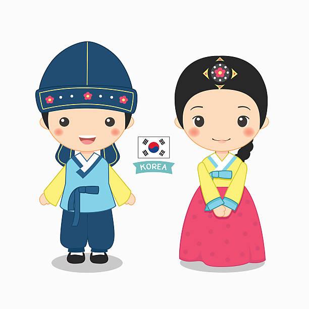 612x612 Korean Hanbok Clipart Collection