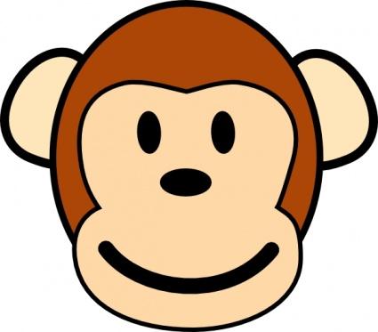 425x373 Monkey Cartoon Clipart Panda