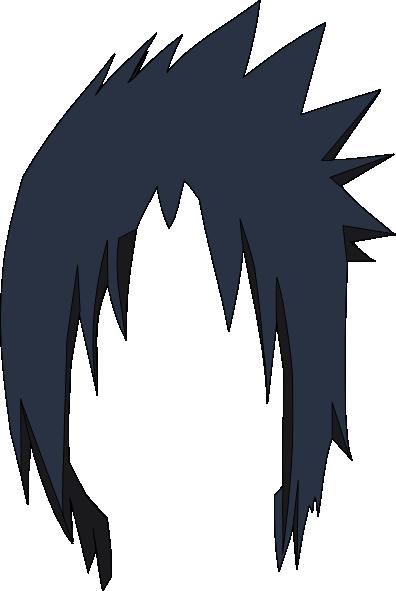396x591 Sasuke Hair Lol Clip Art