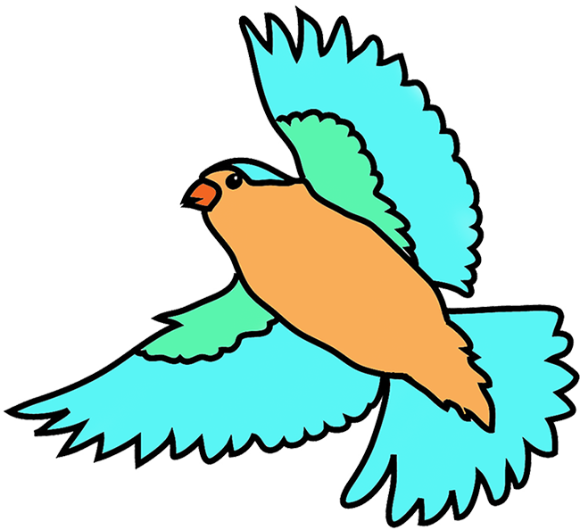650x594 Drawn Sparrow Clip Art