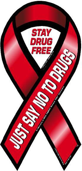 278x578 Drug Addiction Awareness Ribbon Don'T Do Drugs Interactive