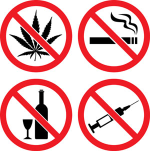 300x302 Say No To Drugs Clipart