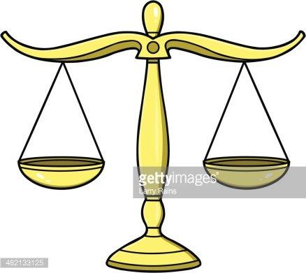 438x391 Legal Scales Of Justice Premium Clipart