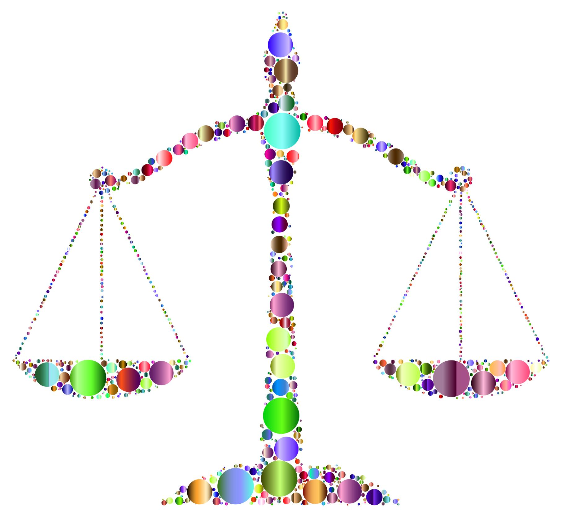 1815x1671 Prismatic Justice Scales Circles 3 Clipart