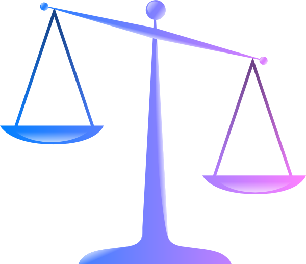 600x518 Scales Of Justice 2 Clip Art