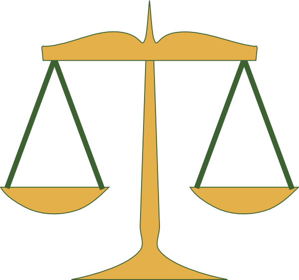 600x562 Scales Of Justice Clip Art