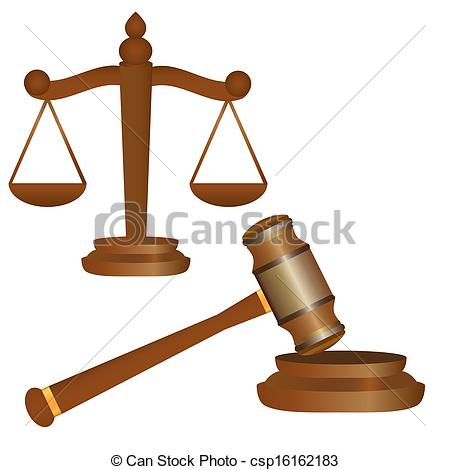 450x470 Scales Of Justice And Gavel Vector