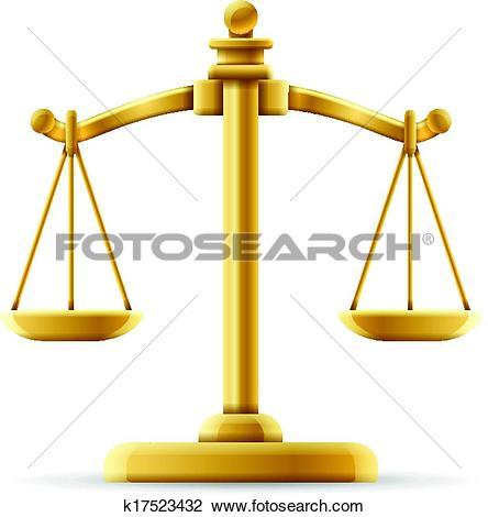 444x470 Clipart Balance Justice