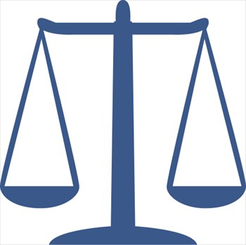 350x348 Scales Of Justice Free Clip Art Scales Icon Large