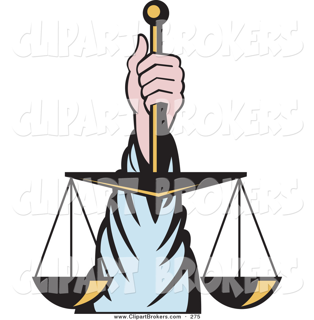 1024x1044 Clip Art Of A Hand Holding Up Scales Of Justice On White By