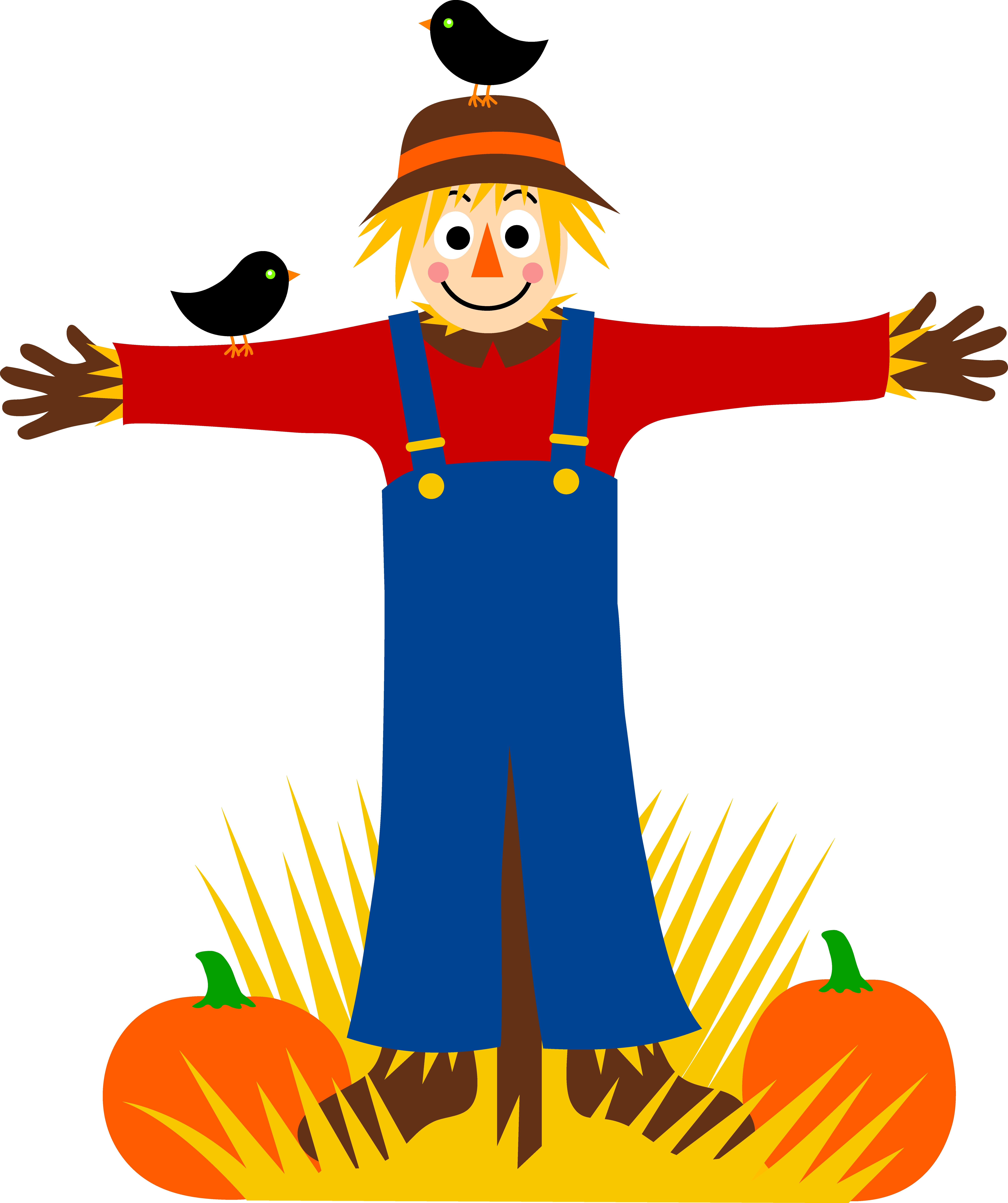 7219x8614 Fresh Scarecrow Clipart Design
