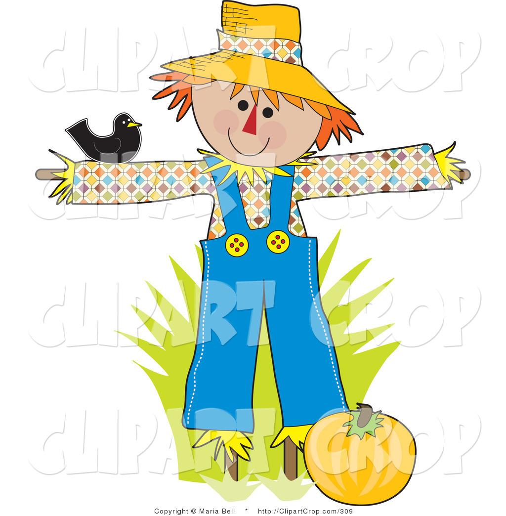 1024x1044 Halloween Scarecrow Clipart