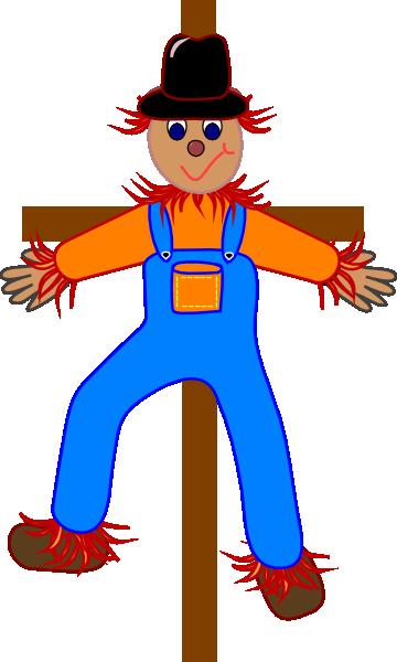 360x600 Scarecrow Clip Art