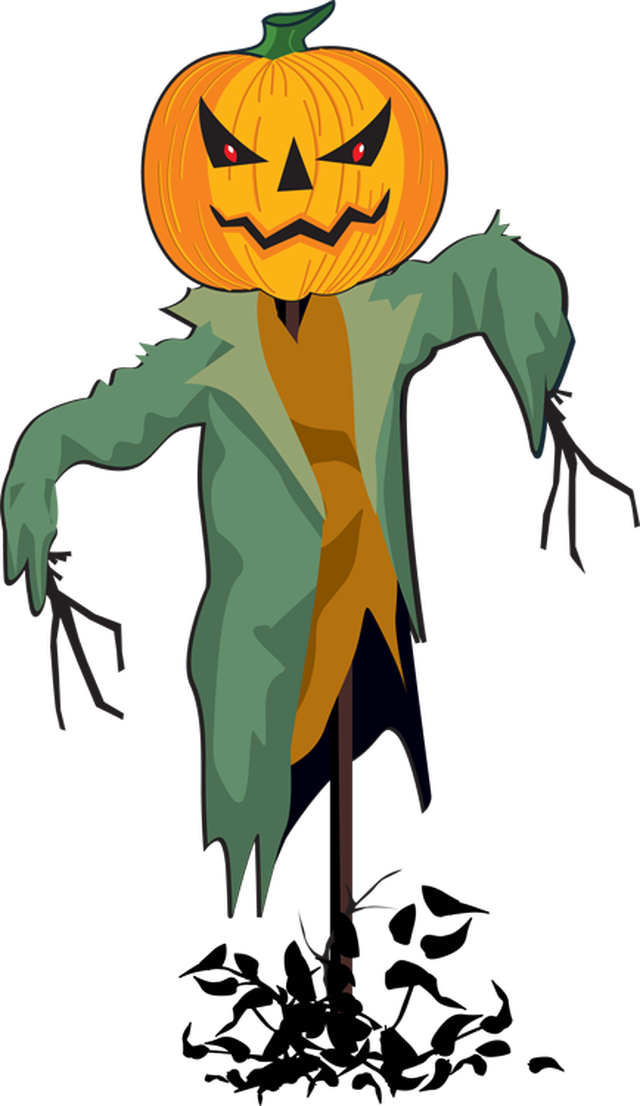640x1106 Scarecrow Clip Art Graphics Free Clipart Images Clipartcow Fall