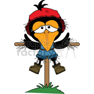 300x300 Scarecrow Clipart Funny