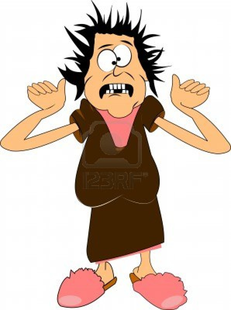Scared Clipart