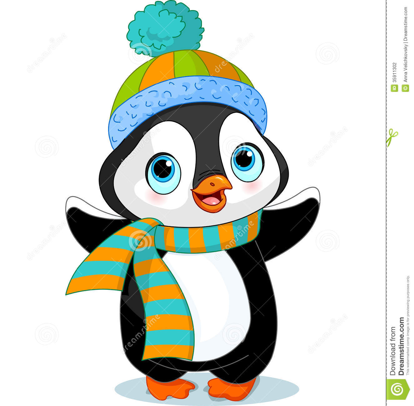 1325x1300 Winter Cartoon Clip Art Scarf Clipart Winter Cap 17