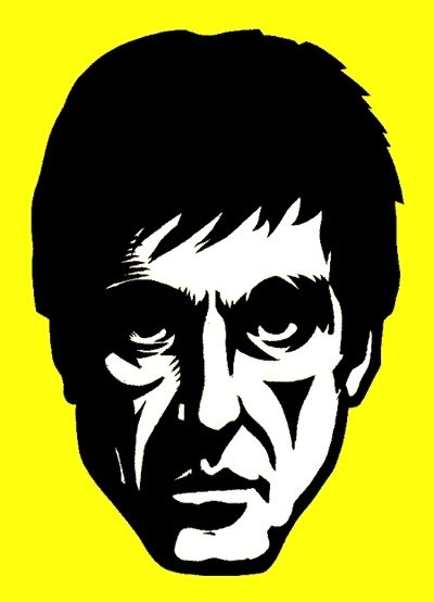 Scarface clipart at free for personal - Scarface cartoon wallpaper ...