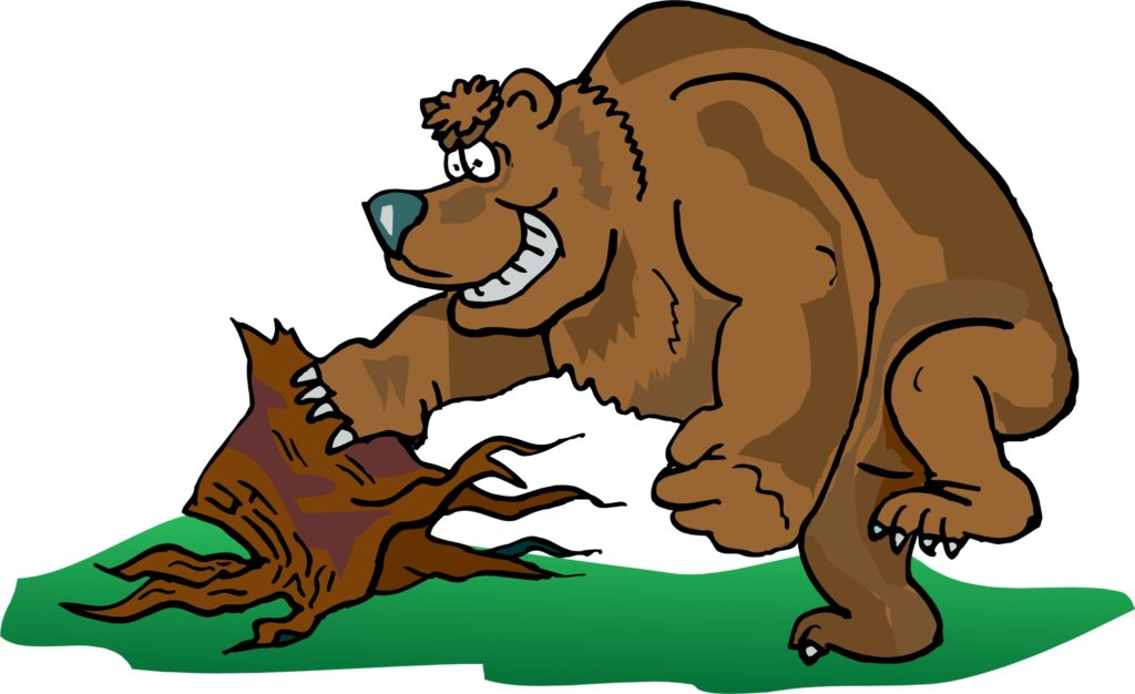 Scary Bear Clipart