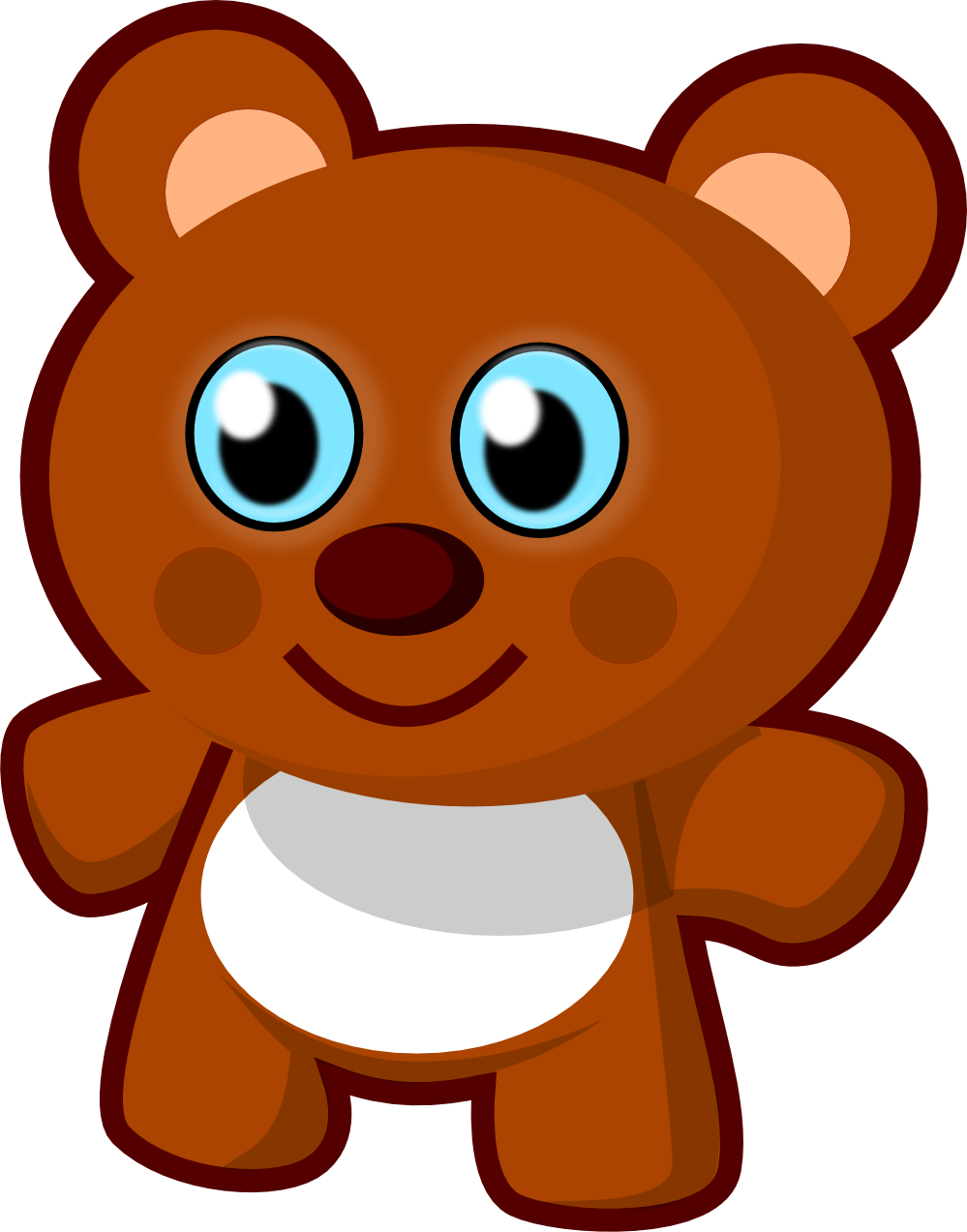 999x1273 Bear Png Free Images