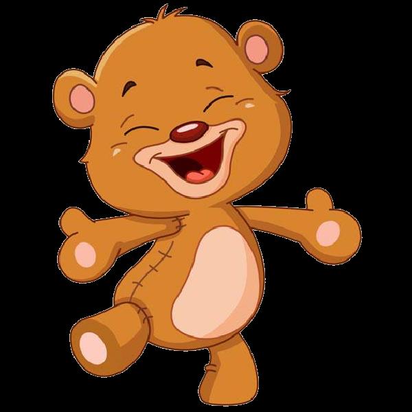 600x600 Bear Clipart Cartoon