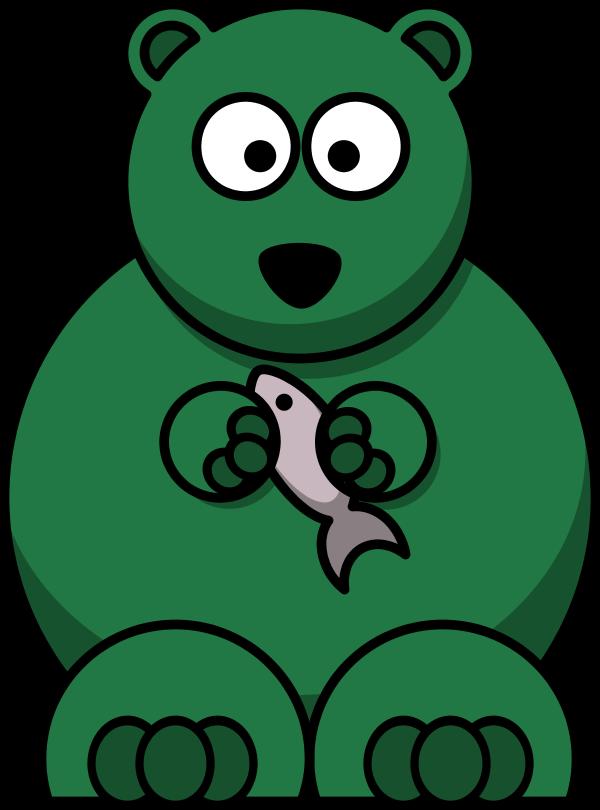 600x810 Black Bear Cartoon