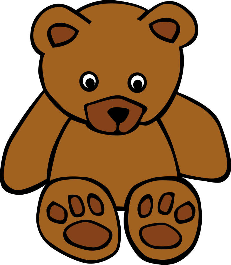 787x900 Grizzly Bear Clipart