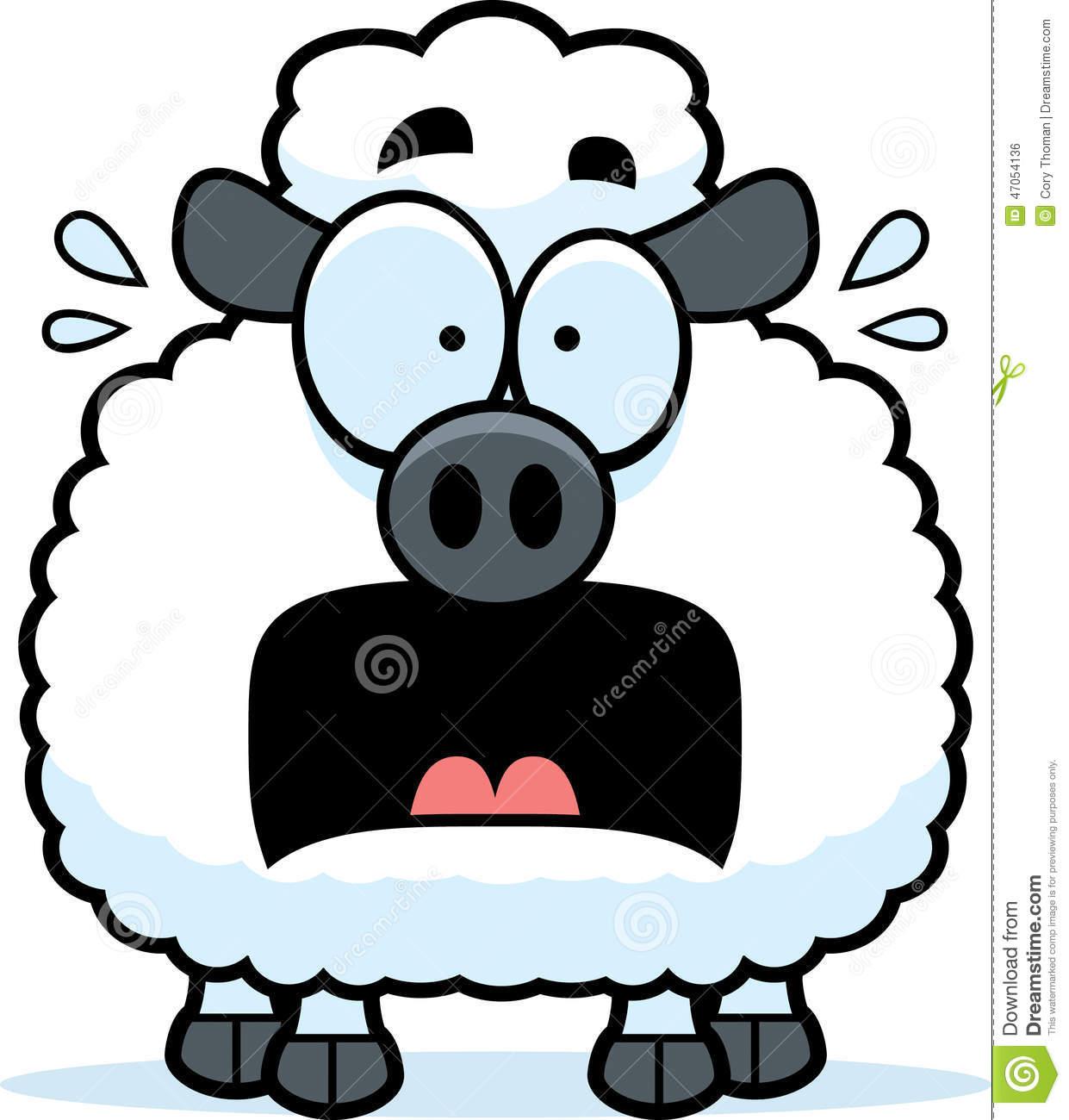 1241x1300 Lamb Clipart Scared