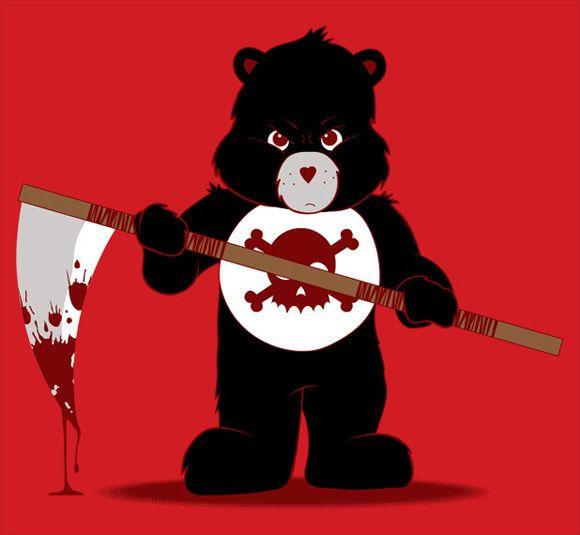 580x535 Scare Bear By Jason Tracewell Illustration Bears